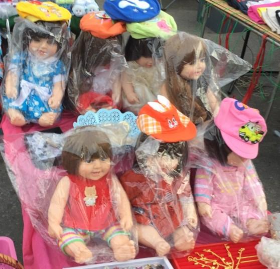 タイで幽霊の乗り移った赤ちゃん人形がバカ売れ