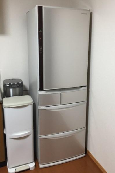パナソニックの冷蔵庫 NR-E431V レビュー、音はうるさい?静か?