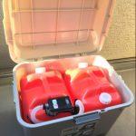 灯油缶を置く場所と臭い、こぼれ対策!買ってはダメなタイプも。