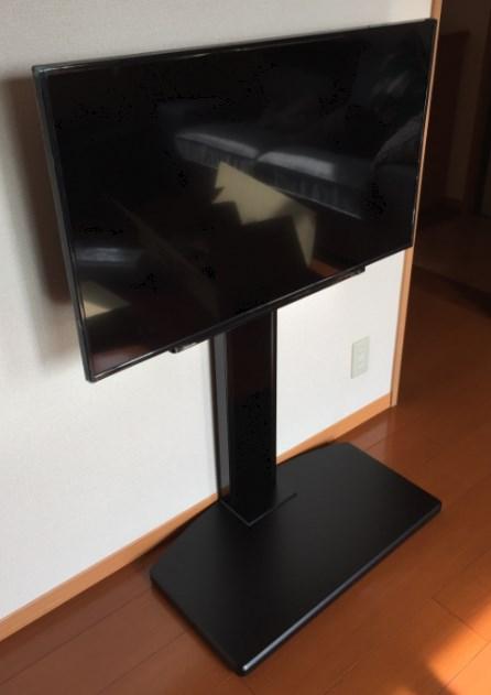 壁掛けテレビよりテレビスタンド1