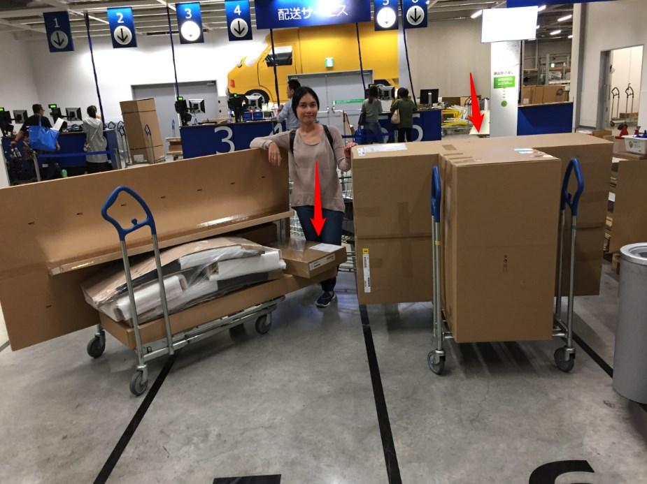 IKEAの配送