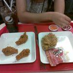 タイのKFCにあるカラムーチョみたいな味のチキンがうますぎる!