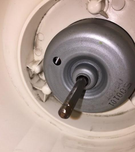 トイレの換気扇のシロッコファンの外し方